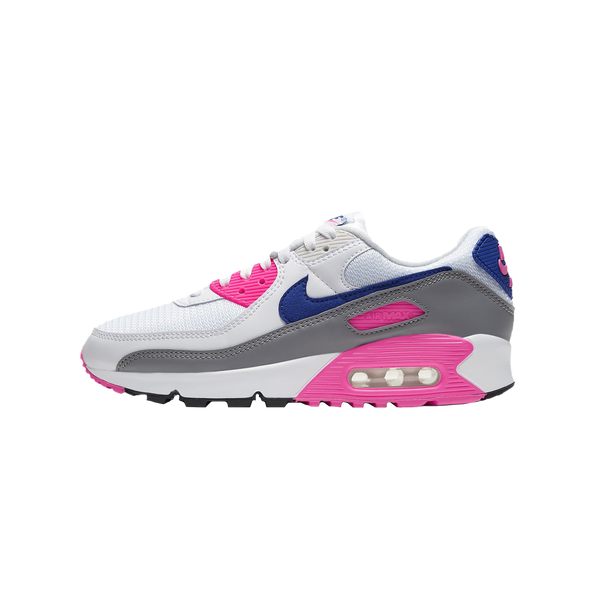 W Nike Air Max III 'White/Concord/Pink Blast/Vast Grey' [CT1887-100]
