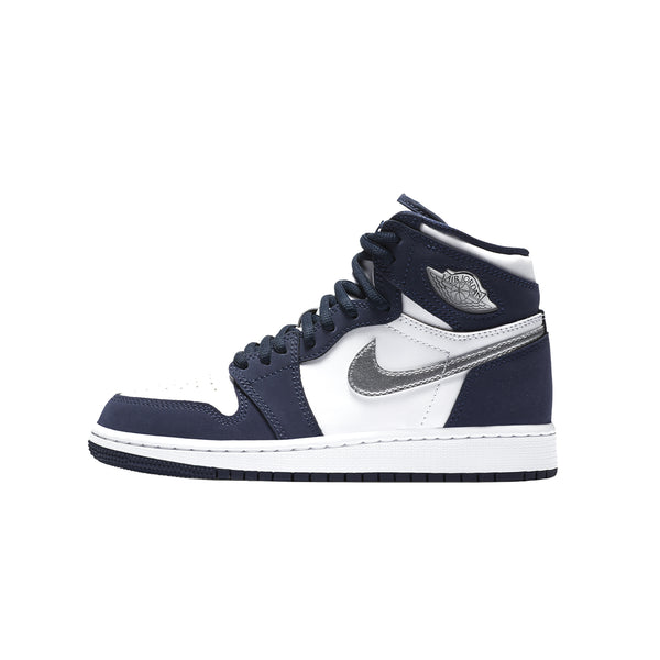 Air Jordan 1 High OG CO.JP 'White/Metallic Silver/Midnight Navy' [DC1788-100]