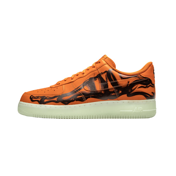 Nike Air Force 1 '07 Skeleton QS 'Starfish/Black' [CU8067-800]