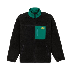 Aime Leon Dore Full Zip Polar Fleece [Black]