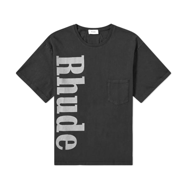 Rhude Pocket Tee [Black]