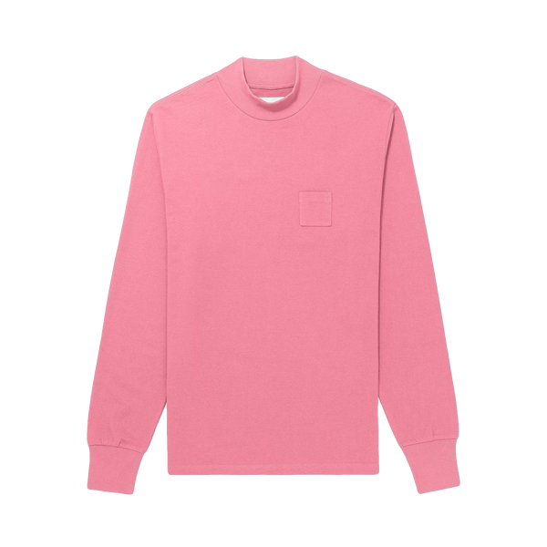 Aime Leon Dore L/S Mockneck Dimebag Tee [Heather Rose]