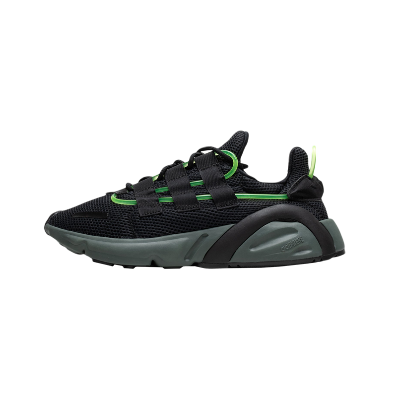 Adidas LXCON in Core Black/Green  Style: EF9678 'Dart Frog'