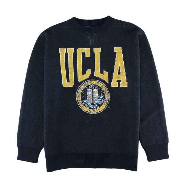 Junya Watanabe MAN UCLA Knit Sweater [Navy]