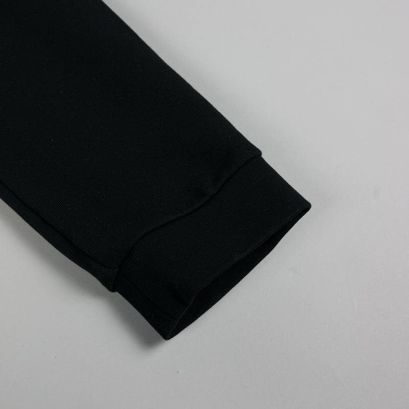 Cuff detail of fashion designer Maison Margiela Cotton Sweatpant in black