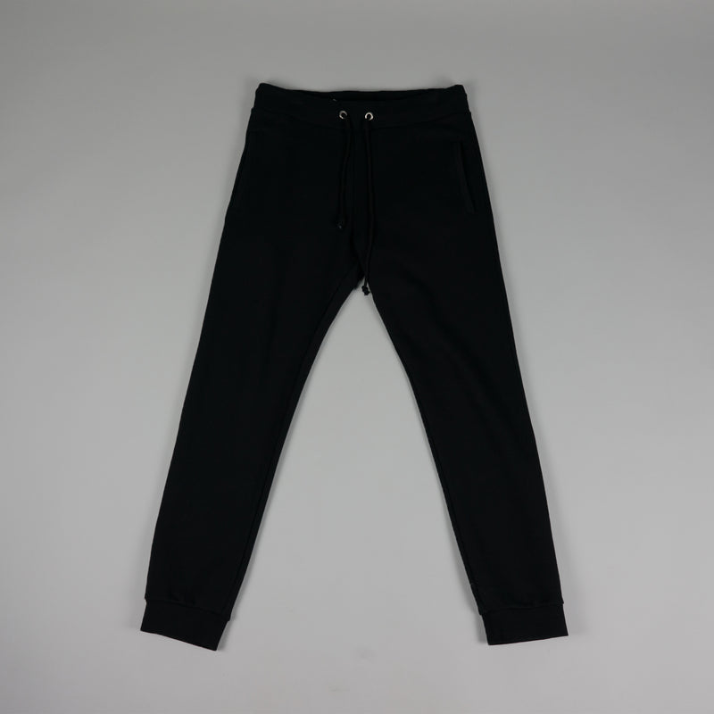 Front of fashion designer Maison Margiela Cotton Sweatpant in black