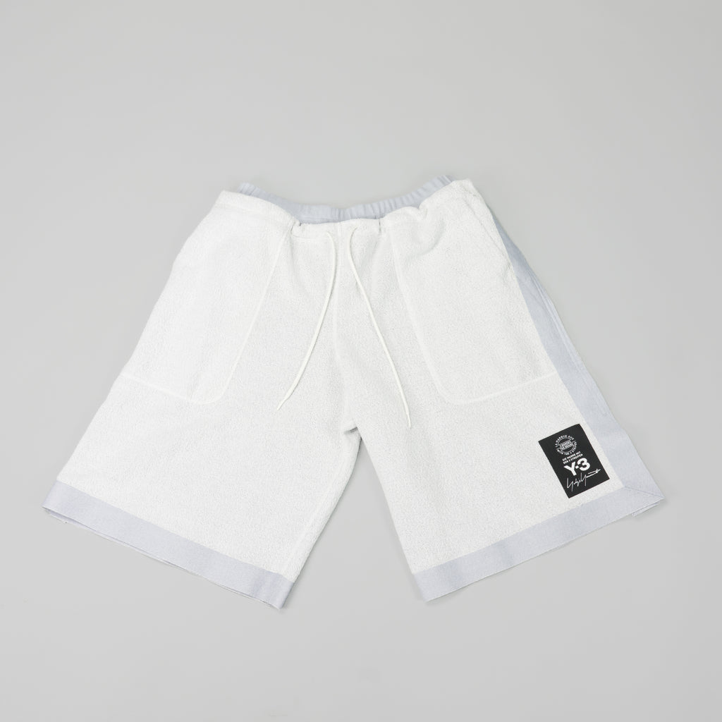 Y-3 Sheer Track Shorts [Sheer Grey]