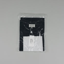French designer Maison Margiela Vaccum Seal Patch T-Shirt in Black at ROOTED