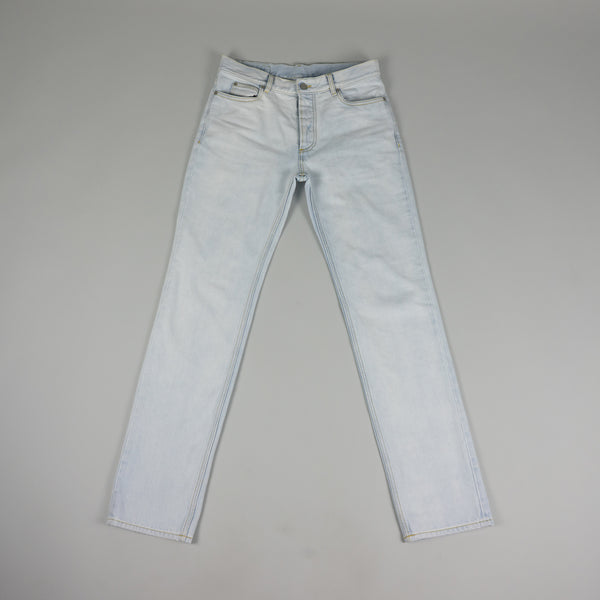 Front of Maison Margiela Regular Fit Denim in the Superbleach color