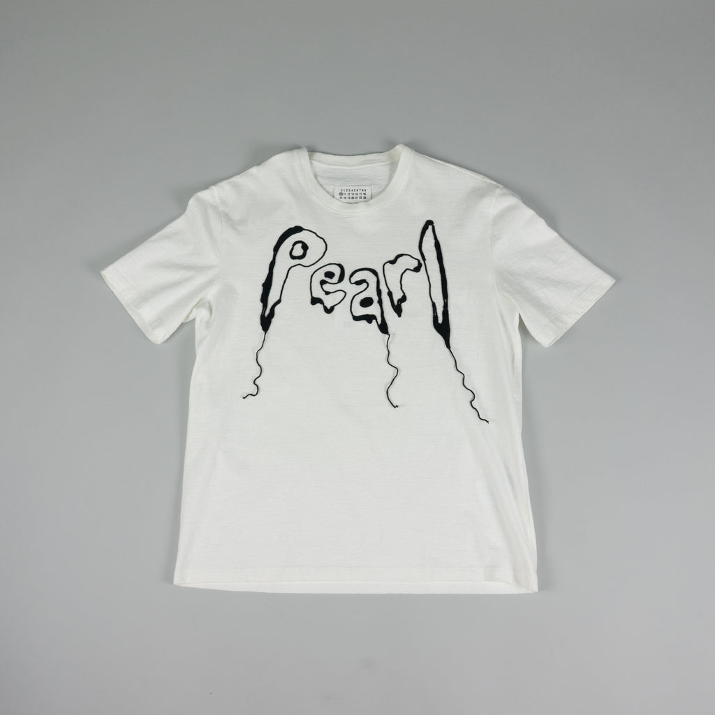 Maison Margiela 'Pearl' T-Shirt [White/Black]