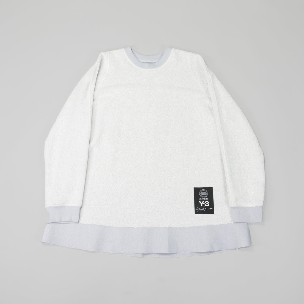 Y-3 Sheer Crew Sweatshirt [Sheer Grey]