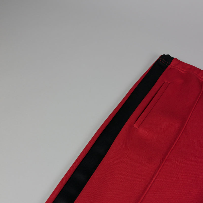Stripe detail of Maison Margiela Loose Fit Track Pant in Red