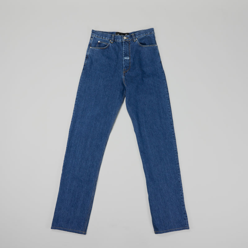 Martine Rose High Waisted Denim [Indigo]