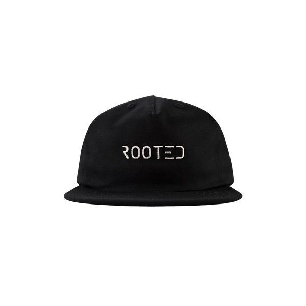 ROOTED Basic Cap 'Black'