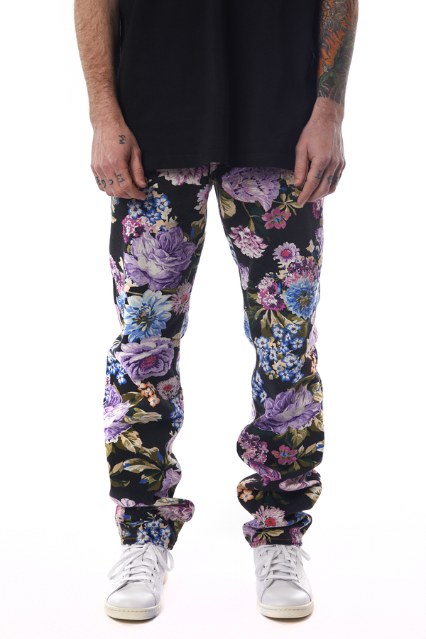 Martine Rose Straight Leg Denim 'Floral'