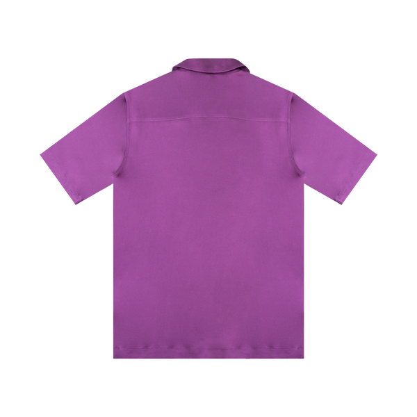 SOULLAND Orson Shirt 'Purple AOP'