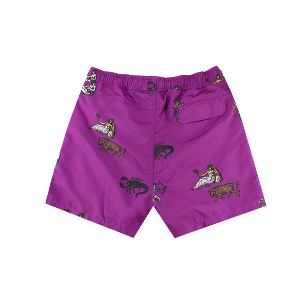 SOULLAND William Shorts 'Purple' AOP