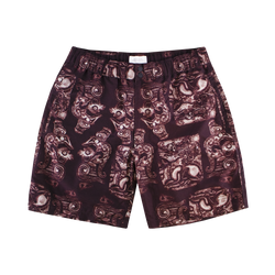 Saturdays NYC Trent Pendant Swim Short [Dark Mauve]