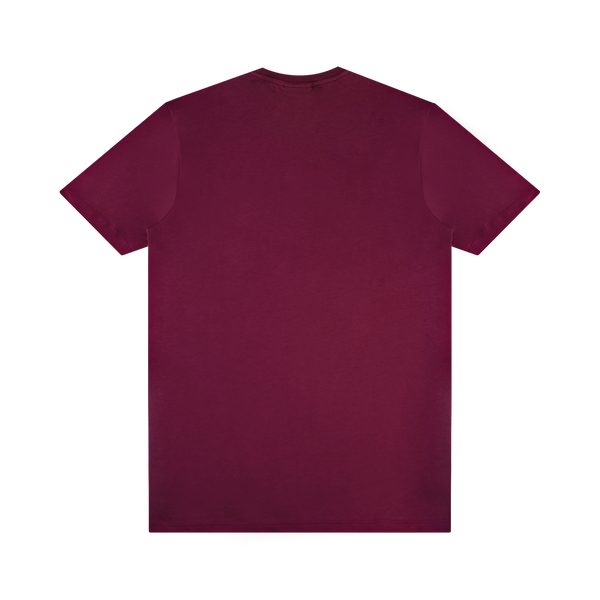 Soulland Coffey T-Shirt 'Burgundy'