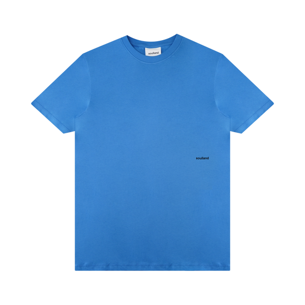 Soulland Coffey T-Shirt 'Light Blue'