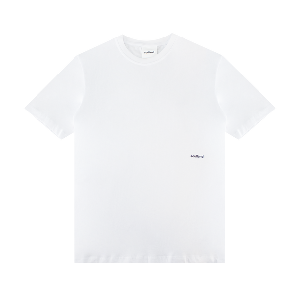 Soulland Coffey T-Shirt 'White'