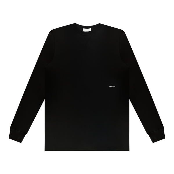Soulland Noah L/S T-Shirt 'Black'