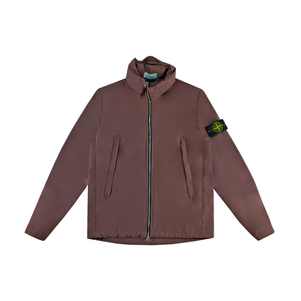 Stone Island Light Soft Shell R Jacket [Mahogany]