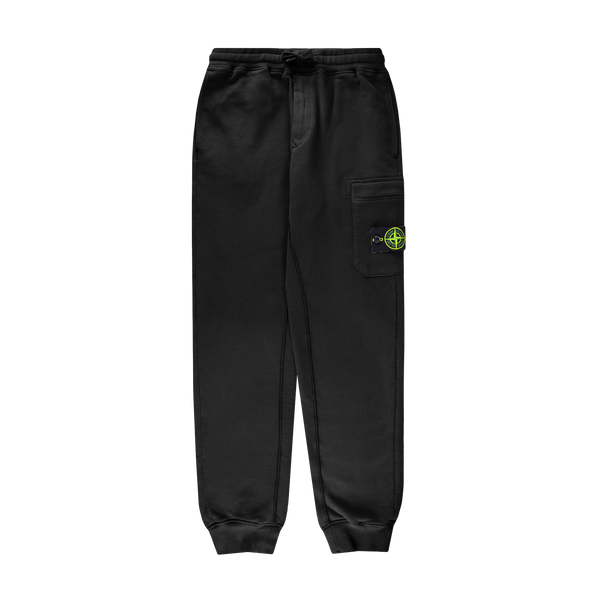 Stone Island Fleece Cargo Pant 'Black'