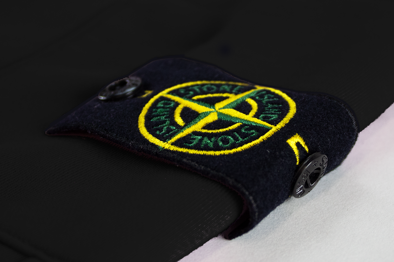 Stone Island Fleece Sweatpants 'Black'