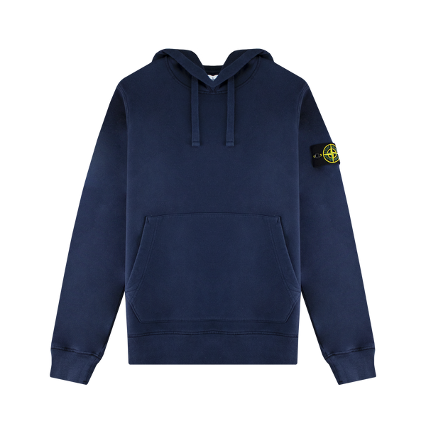 Stone Island Hooded Sweatshirt 'Blue Marine'