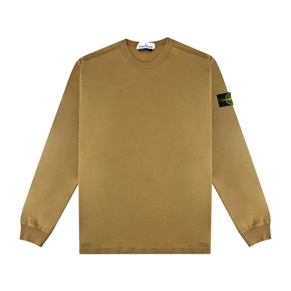 Stone Island L/S Patch Shirt 'Tobacco'