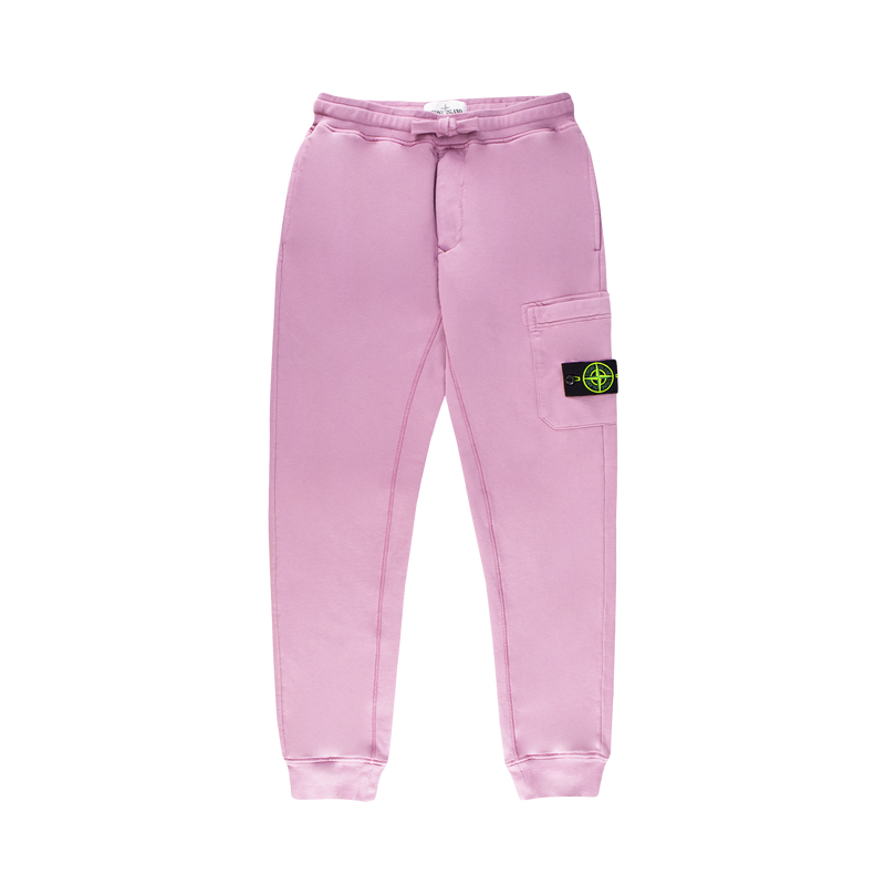 Stone Island Fleece Sweatpants [Pink Quartz]