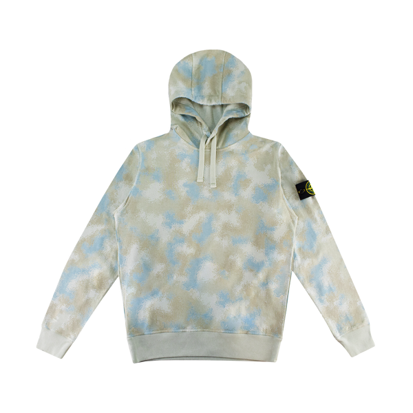 Stone Island Hooded Sweatshirt [Dove Grey Camo]