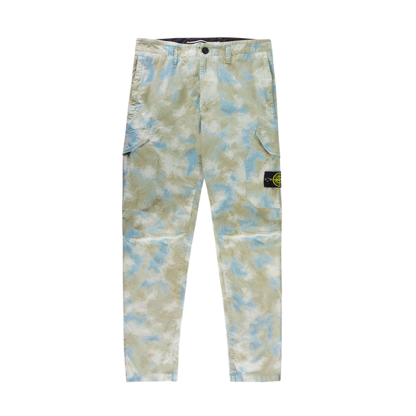 Stone Island Nylon Pants [Dove Grey Camo]