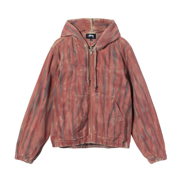 Stussy Dyed Work Jacket 'Rust'