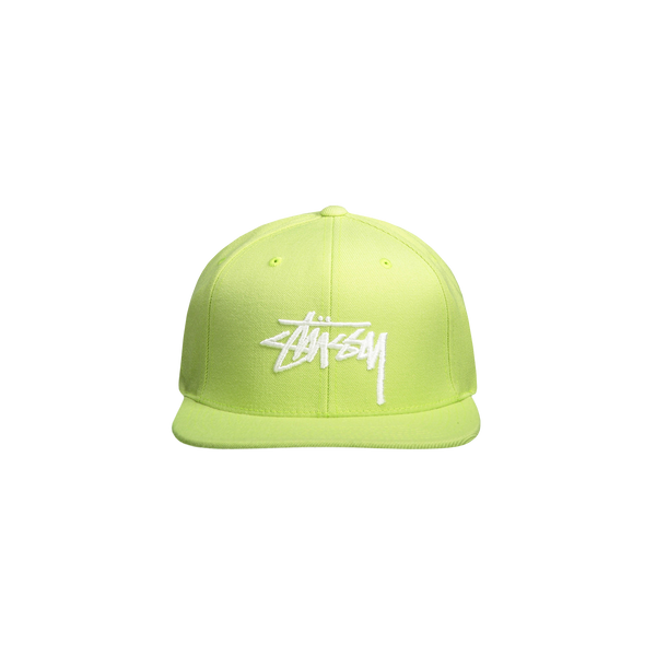 Stussy Stock Cap 'Lime'