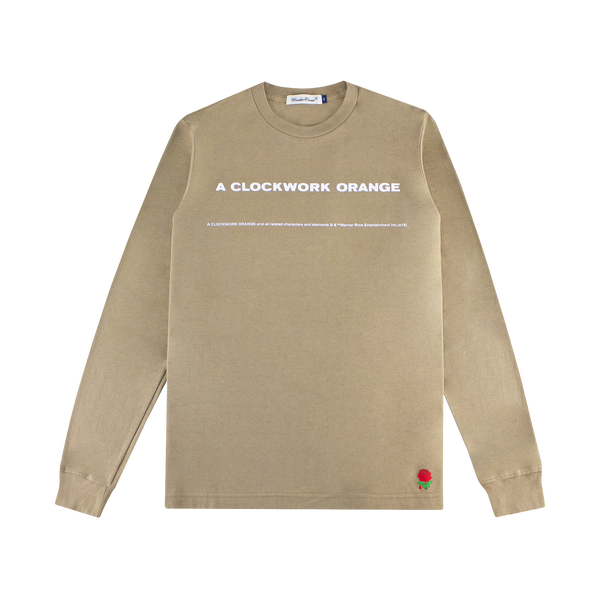 Undercover A Clockwork Orange L/S T-Shirt [Beige]