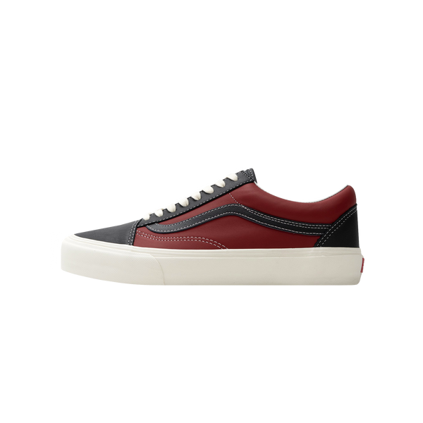 Vans UA Old Skool VLT LX 'Black/Chilli Pepper' [VN0A4BVF22C]