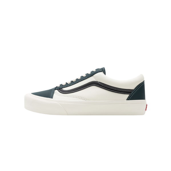 Vans UA Old Skool VLT LX 'Evergreen/Marshmallow' [VN0A4BVF22D]