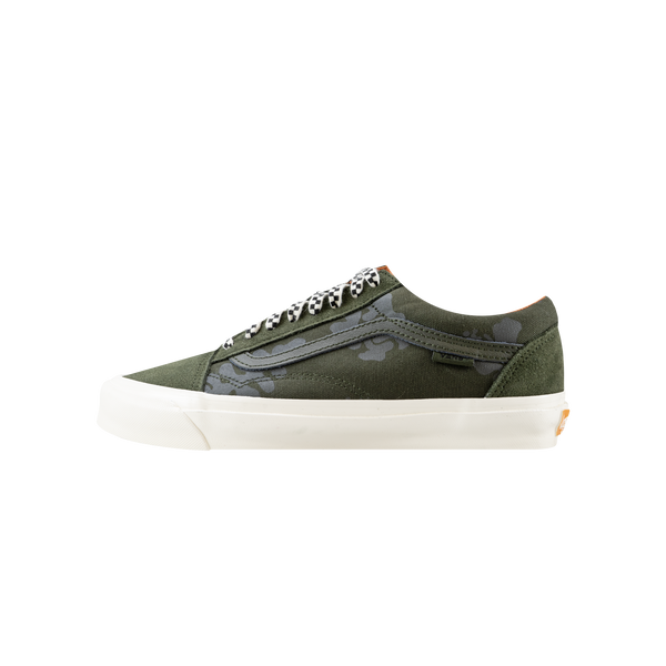 Vans Vault x Porter OG Old Skool Lx 'Forest Night/Black Ink'