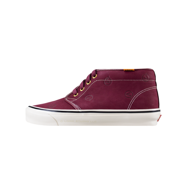 Vans x LQQK OG Chukka Boot LX 'Circle V Burgundy' [VN0A5FBV2SO]