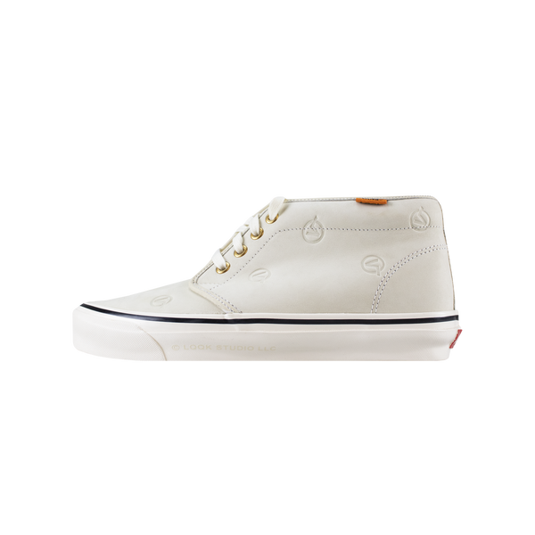 Vans x LQQK OG Chukka Boot LX 'Circle V Cream' [VN0A5FBV2SP]