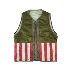 Visvim Iris Liner Vest [Light Green]