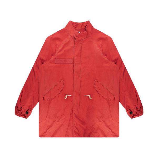 Visvim Six-Five Fishtail Parka 'Red'