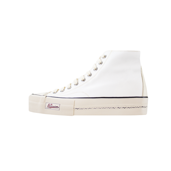 Visvim Skagway Hi Canvas Patten [White]