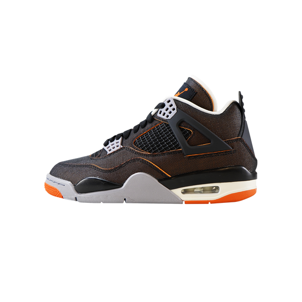 Women's Air Jordan 4 Retro 'Sail/Black/Starfish'