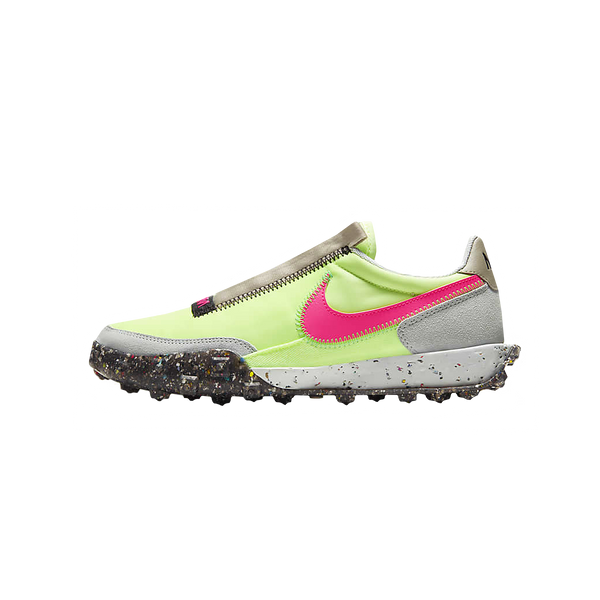Women's Nike Waffle Racer Crater 'Barely Volt/Pink Blast'