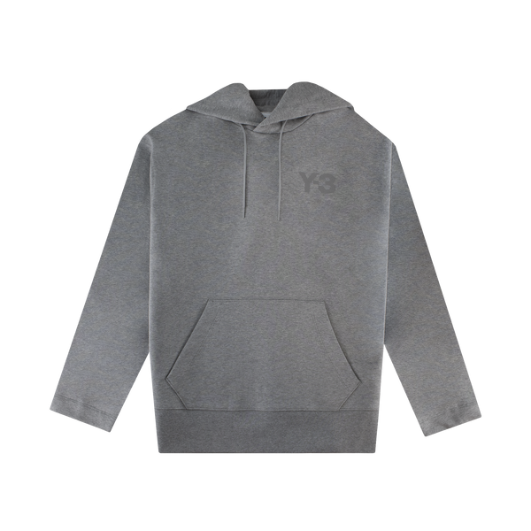 Y-3 Classic Logo Hoodie [Medium Heather Grey]