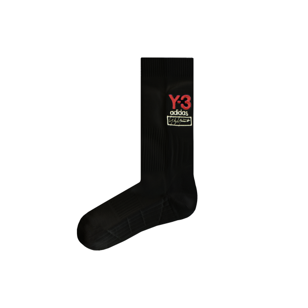 Y-3 Logo Socks [Black]