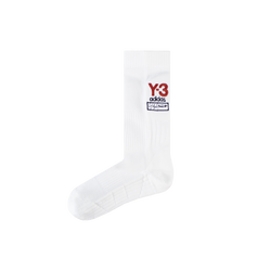 Y-3 Logo Socks [White]